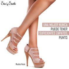 Una mujer nunca puede tener suficientes zapatos. punto.