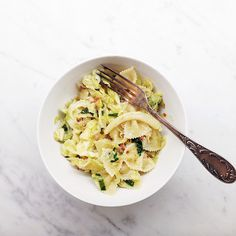 Pasta with cabbage and pancetta