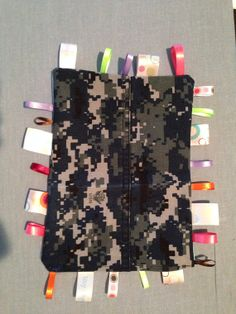 US Navy Baby Girl Taggie by MostlyStraightLines on Etsy, $2.32