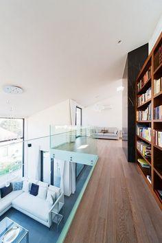 interior modern residence 201 Imposing Family Abode in Suburban Budapest : Sommelier's Home