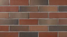 Brampton Brick's Architectural Brick Series offers a variety of textured bricks in a wide range of warm, through-the-body colors for any commercial building project Tile Floor, Brick, Clay, Colours, Architecture, Smooth, Red, Clays, Arquitetura