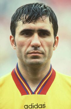 Saw him play versus Wales in Cardiff when Romania won 1 - 2 in May 1994 in a World Cup qualifying game ~ he was the difference ! Good Soccer Players, Football Players, World Football, Football Soccer, Fifa, Association Football, International Football, Different Sports, Professional Football