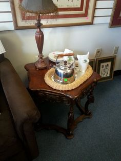 Reasonably Priced Antique Furniture, Tea Accessories, Tea Pots, Lamps And  Furniture At The