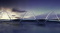 DNA-Shaped Suspension Bridge Inspired by Olympic Games' Five Rings - My Modern…
