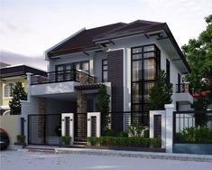 Casa villa in stile moderno architettura design