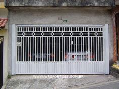 Grill Gate Design, Front Gate Design, House Gate Design, Unique House Design, Door Design, Door Gate, Fence Gate, Main Gate, Front Gates