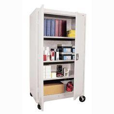 Luxury Mobile Storage Cabinet with Doors
