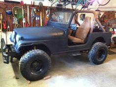 The Jeep is getting there.