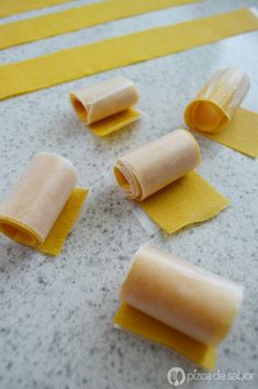 Dulce de mango natural – rollitos o rollups de mango www.pizcadesabor.com