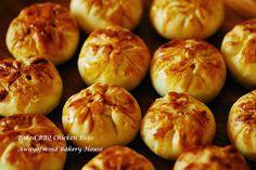 Awayofmind Bakery House: Siew Bao (Jan 2014) (Baked BBQ Chicken Buns 烧包)