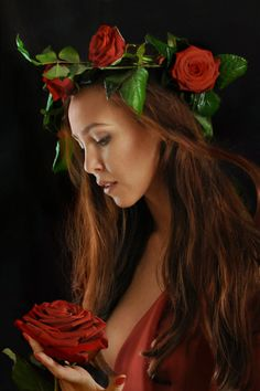 Red Passion by endegor on deviantART Beautiful Love, Beautiful Images, Beautiful Ladies, Color Splash, Color Pop, Alternative Photography, Unique Roses, Romantic Flowers, Black Image