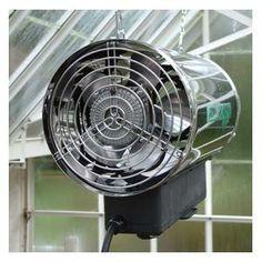 green house fan heaters