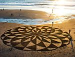 Drawings in the sand. by Andres Amador