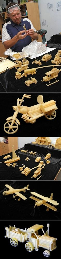 Забавные конструкции из макарон   поделки   Постила