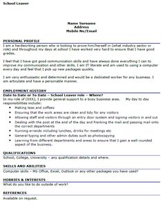 Trainee it technician at micronet global services pvt ltd career cv example school leavers uk google search yelopaper Image collections