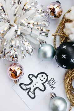 DIY Christmas Tag and Wrapping Inspo