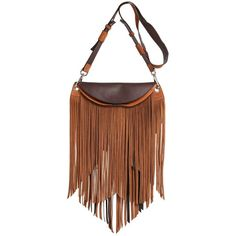 EMILIO PUCCI Fringed Leather Shoulder Bag (19.110 NOK) ❤ liked on Polyvore featuring bags, handbags, shoulder bags, purses, handbags shoulder bags, fringe leather handbags, leather handbags, leather fringe purse and leather purses