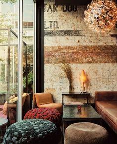 55 Awesome Small Coffee Shop Interior Design 15 - Home & Decor Coffee Shop Interior Design, Coffee Shop Design, Cafe Design, Cozy Cafe Interior, Small Coffee Shop, Best Coffee Shop, Coffee Shops, Coffee Coffee, Coffee Break