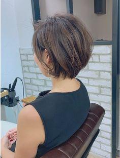 Short Hair Syles, Messy Short Hair, Asian Short Hair, Long Hair, Chin Length Hair, New Hair Do, Brown Blonde Hair, Short Bob Hairstyles, Haircuts