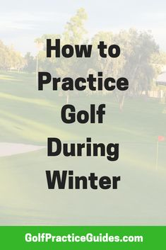 Read our golf tips on how to practice golf in the winter time. We love indoor golf practice and these tips / drills will help your game while it& cold. Golf Training, Training Plan, Golf Putting Tips, Golf Practice, Golf Instruction, Golf Exercises, Golf Tips For Beginners, Perfect Golf, Golf Humor