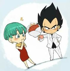 Bulma & Vegeta ♡