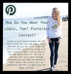 Check out how you can win some awesome Lonesome George & Co. swag just by doing what you love - Pinning on Pinterest!