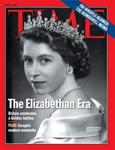 Queen Elizabeth on the  June 3, 2002, cover of TIME's Europe edition, marking her Golden Jubilee