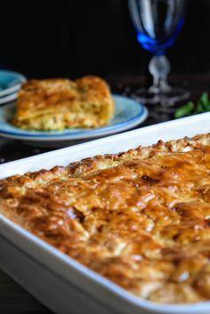 Εύκολη κοτόπιτα με φύλλο σφολιάτας - Just life Macaroni And Cheese, Ethnic Recipes, Food, Mac And Cheese, Essen, Meals, Yemek, Eten