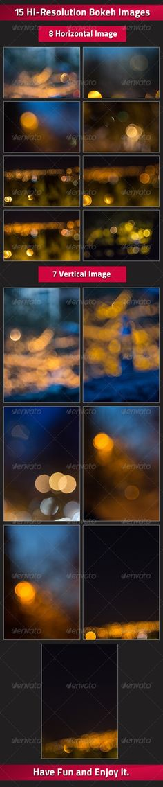 Buy Set of 15 Bokeh Images by zakharia on GraphicRiver. This hi-resolution images are great for Backgrounds, or for overlay on pictures and these kind of things. Bokeh Wallpaper, Nature Wallpaper, Nature Decor, Nature Crafts, Bokeh Images, Nature Tattoo Sleeve, Creative Typography Design, Nature Drawing, Nature Pictures