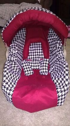 Alabama Houndstooth Carseat Cover By BowsFromAbove On Etsy 7500 Twin Baby Boys 3rd