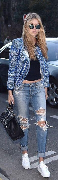 Gigi Hadid - Street Style