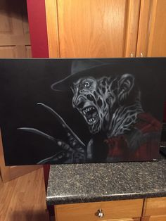 c4d68a7e4f3 Fan Art of Freddy Kruger by HobbyOfTheMonth on Etsy