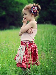 Hazel Skirt Pattern by Violette Field Threads