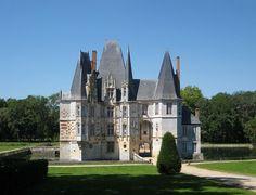 The Château d'O in Mortrée, France