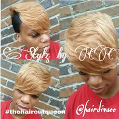 Short cuts 27 Piece Hairstyles, Blonde Bob Hairstyles, Hairstyles With Bangs, Short Hair With Bangs, Long Bangs, Short Hair Styles, Becca Tilley, Asymmetrical Bangs, Sparse Eyebrows