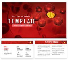 Blood Plasma Keynote templates Presentation