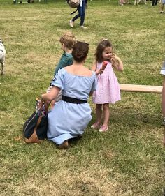 Kate took George & Charlotte to the Houghton Horse Trials TODAY 27 May 2018.