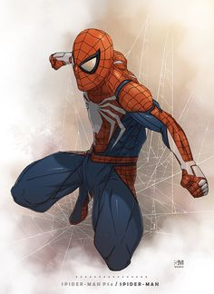 Spider-Man by Broken Noah.