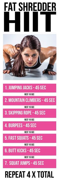 8 reasons your next workout should be a HIIT workout.