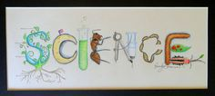 Hey, I found this really awesome Etsy listing at http://www.etsy.com/listing/104930176/science-theme-name-art-sign-classroom