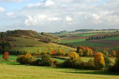 Een stukje buitenland in eigen land: het heuvellandschap van Nationaal Landschap Zuid-Limburg Foto: Hay Heuts