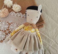 Cloth Doll  Elodie by moose & bird