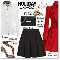 Holiday Wishlist by brendariley-1 on Polyvore featuring Mode, Episode, Topshop, Christian Louboutin, MICHAEL Michael Kors, Kate Spade, women's clothing, women's fashion, women and female