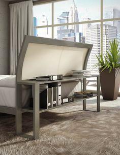http://www.horizonfurniturestore.com/bedroom-furniture/metal-beds.html?brand=190 - Amisco - Furniture - Bedroom - Library Platform Bed - Twin-Shelf Bookcase