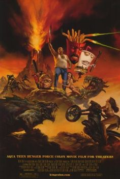 Aqua Teen Hunger Force Colon Movie Film for Theaters Movie Poster (11 x 17 Inches - 28cm x 44cm) (20 @ niftywarehouse.com #NiftyWarehouse #AquaTeenHungerForce #Show #AquaTeen #AdultSwim #Cartoon