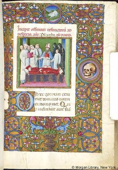 Book of Hours, MS M.454 fol. 21r - Images from Medieval and Renaissance Manuscripts - The Morgan Library & Museum