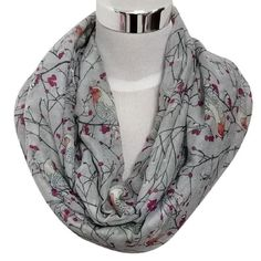 Looking for Christmas Gift, Egmy Womens Cute Bird Print Scarf Shawl Soft Scarves Winter Warm (Gray) ? Check out our picks for the Christmas Gift, Egmy Womens Cute Bird Print Scarf Shawl Soft Scarves Winter Warm (Gray) from the popular stores - all in one. Christmas Presents For Her, Best Christmas Gifts, Cheap Christmas, Holiday Gifts, Loop Scarf, Scarf Wrap, Beach Scarf, Cute Scarfs, Neck Scarves