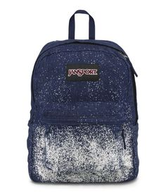 62682de444ed Jansport Super FX Backpack - Indigo Blue   White Galaxy Available at   www.canadaluggagedepot