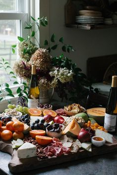 HOW TO MAKE A LUSH CHEESE & CHARCUTERIE BOARD FOR THE HOLIDAYS (AND A WINE PAIRING) from A Daily Something.