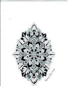 Custom Awesome Mandala Tattoo Design - Mandala Tattoos Tumblr for Fashion Girls - LoveItSoMuch.com
